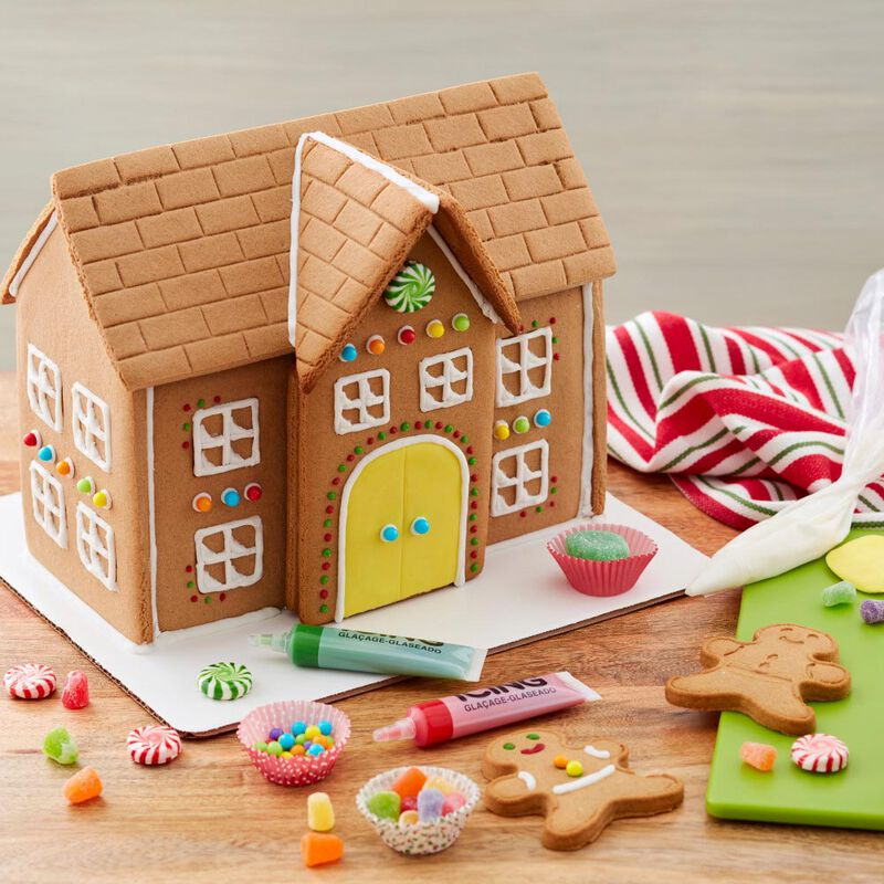 Build it Yourself Grand Gingerbread Manor Decorating Kit image number 3