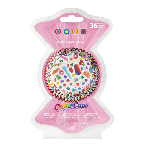 Dylan's Candy Bar Candy ColorCups Cupcake Liners