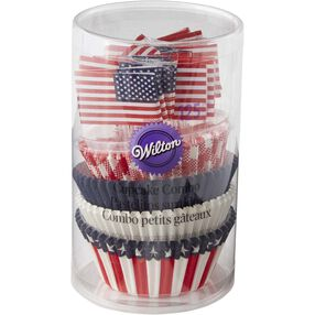 Patriotic Cupcake Decorating Kit