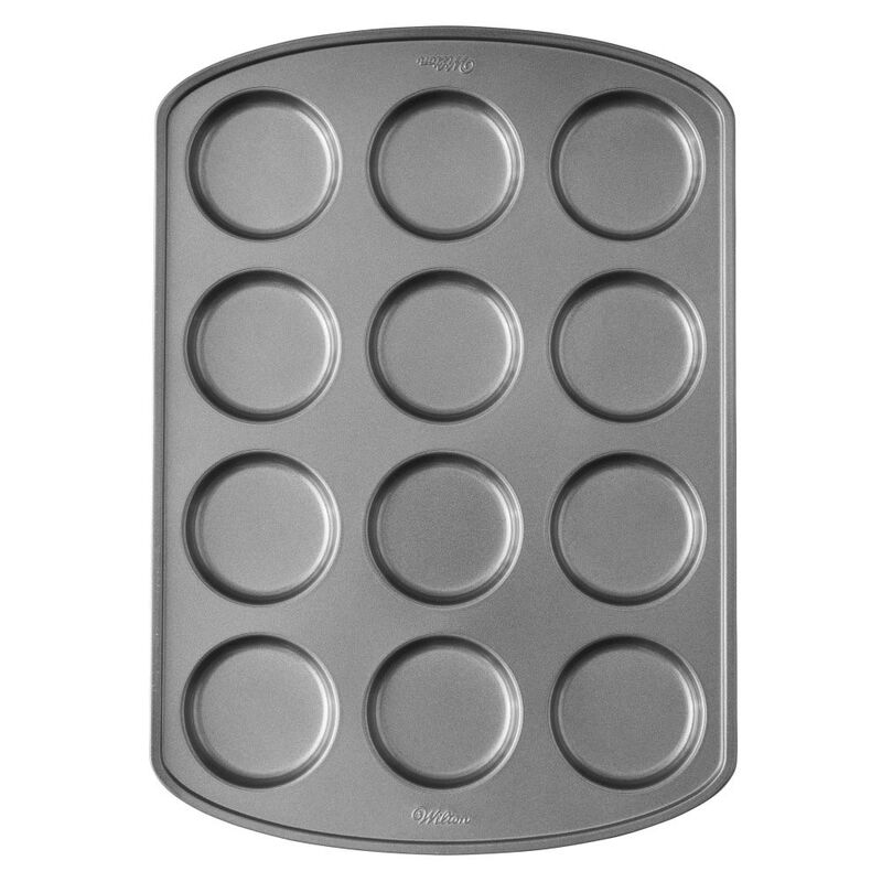 Perfect Results Premium Non-Stick Bakeware Muffin Top Pan, 12-Cup image number 0