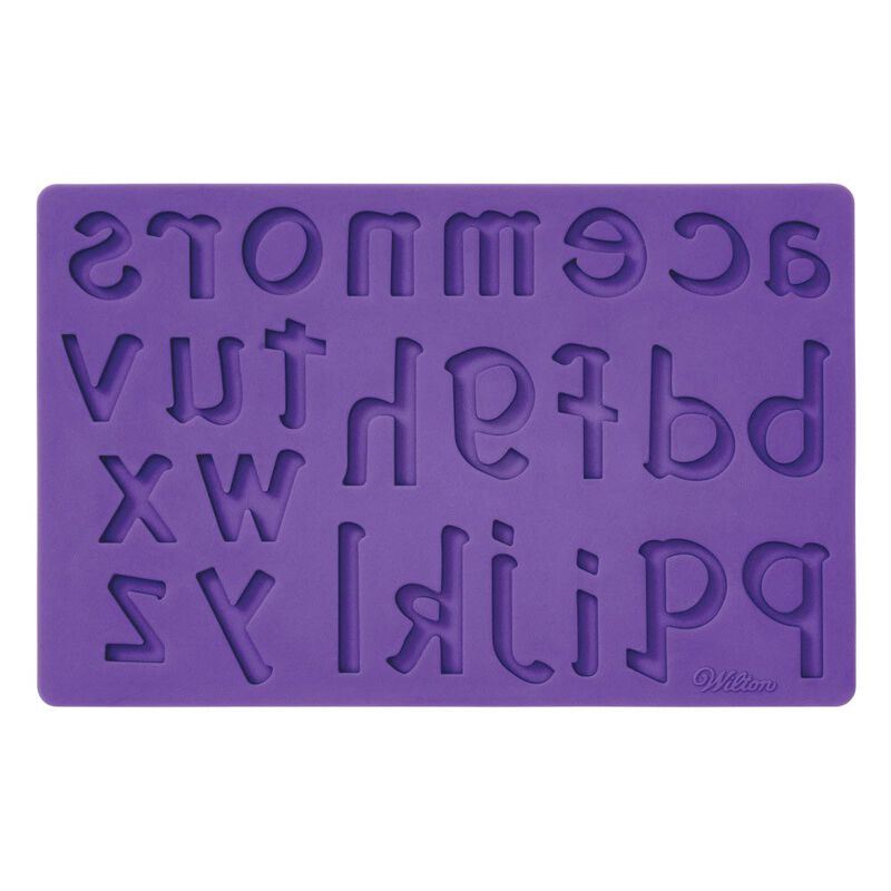 Silicone Letters and Numbers Fondant and Gum Paste Molds, 4-Piece - Cake Decorating Supplies image number 7