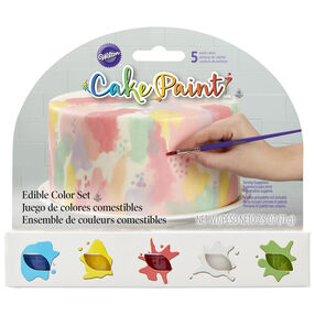 Cake Paint Set, 5-Piece