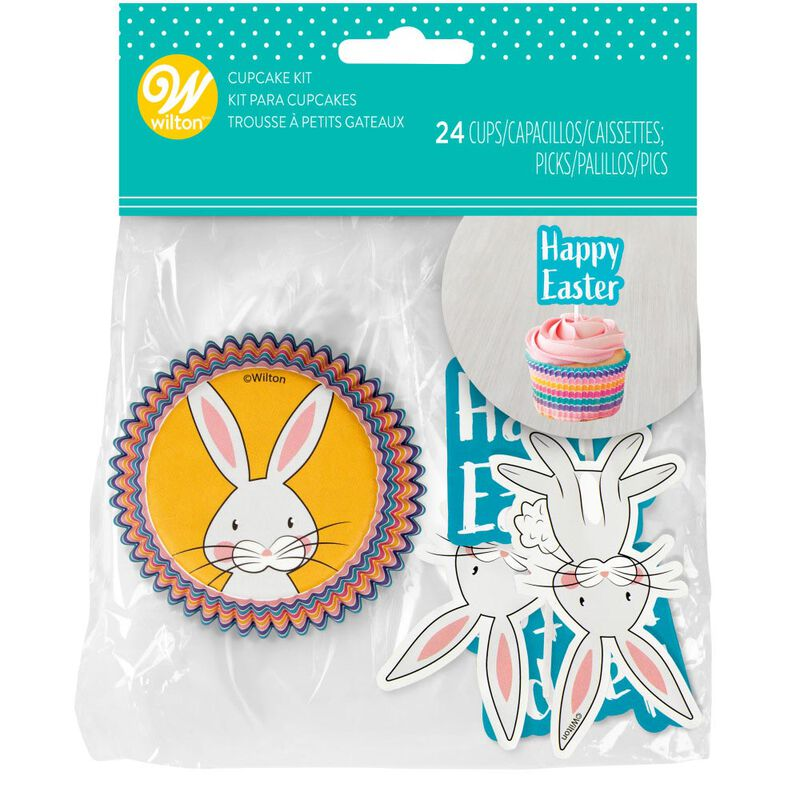 Happy Easter Cupcake Decorating Kit, 24-Count image number 0