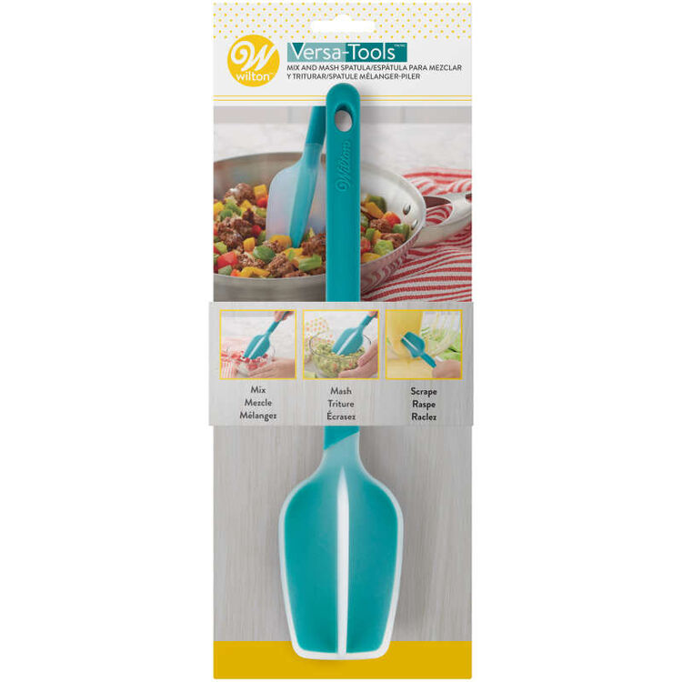 Versa-Tools Silicone Mix and Whisk Spatula for Cooking and Baking