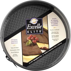Excelle Elite 9 x 2 3/4 Non-Stick Springform Pan