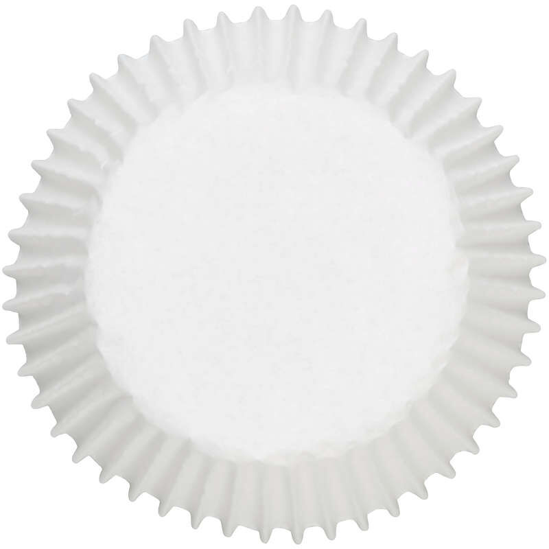 White Cupcake Liners, 75-Count image number 0
