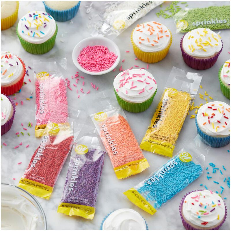 Assorted Jimmies Decorating Set, 8-Piece image number 4