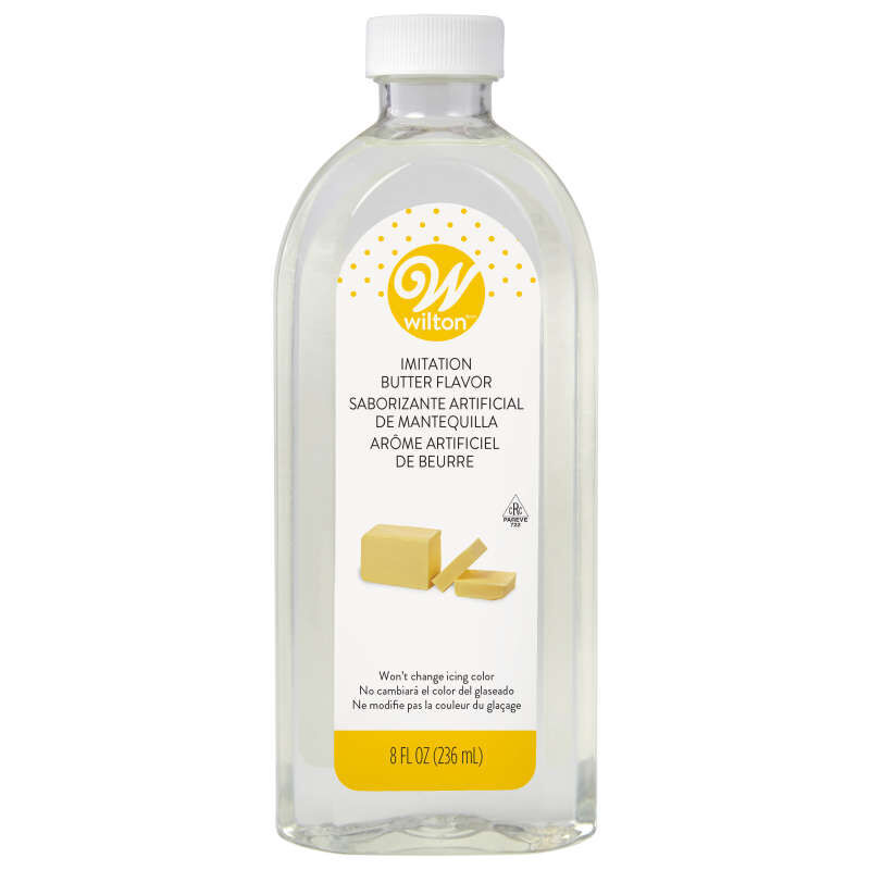 Clear Imitation Butter Flavoring Extract, 8 oz. image number 0