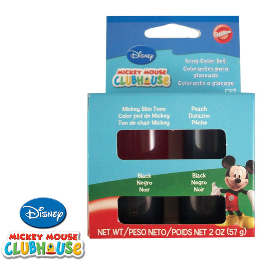 Disney Mickey Mouse Clubhouse Icing Color Set   Wilton