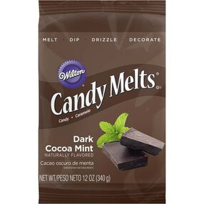 Wilton Dark Cocoa Mint Candy Melts