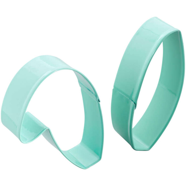 Easter Bunny Ears Cookie Cutter Set, 2-Piece