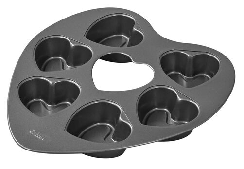 Heart Shaped Mini Cake Pan Wilton