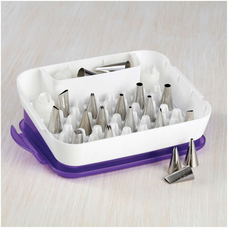 Piping Tips Organizer Case - Cake Decorating Supplies image number 3