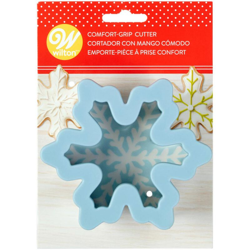 Large Snowflake Comfort-Grip Cookie Cutter image number 1