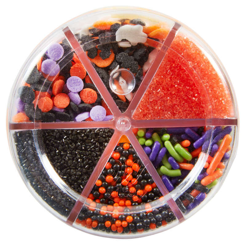 Halloween 6-Cell Sprinkles Mix, 6.56 oz. image number 1