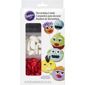 Wilton Mustache, Lips, & Teeth Candy Decorations