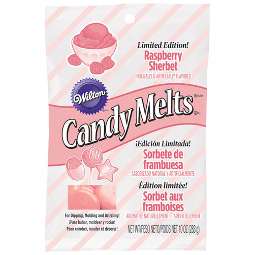 Limited Edition Raspberry Sherbet Candy Melts® Candy