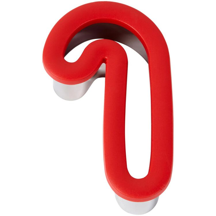 Large Candy Cane Comfort-Grip Cookie Cutter