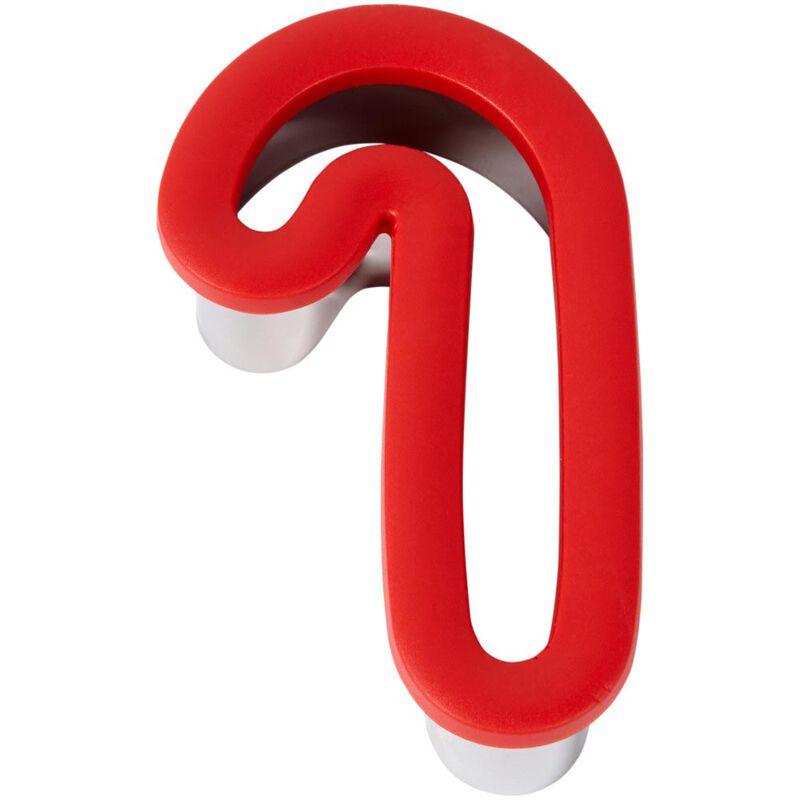 Large Candy Cane Comfort-Grip Cookie Cutter image number 2