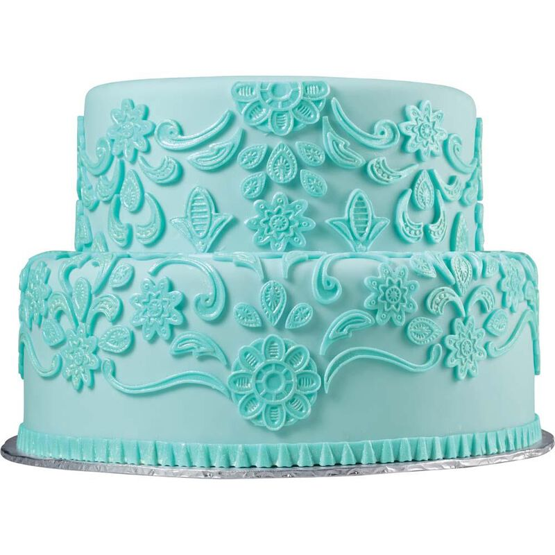 Lace Fondant and Gum Paste Mold image number 2
