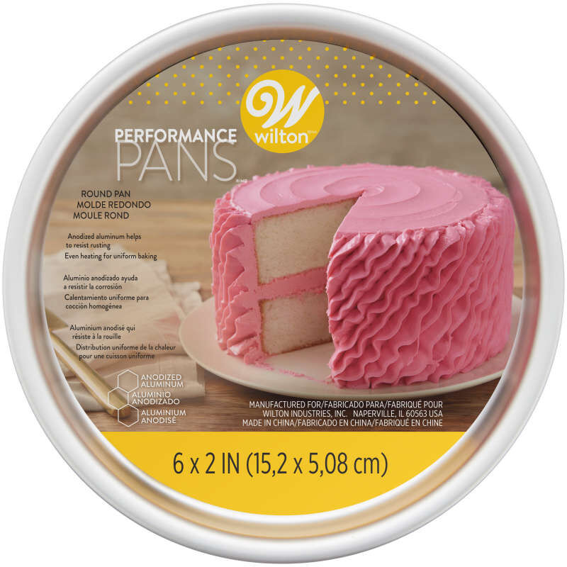 Performance Pans Round Aluminum 6-Inch Cak Pan image number 1