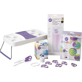 Color Swirl Three-Color Coupler Set for the Adventurous Cupcake Decorator
