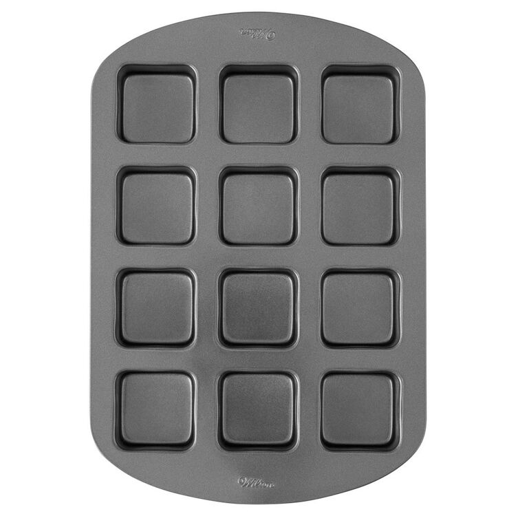 Perfect Results Premium Non-Stick Bar Baking Pan, 12-Cavity