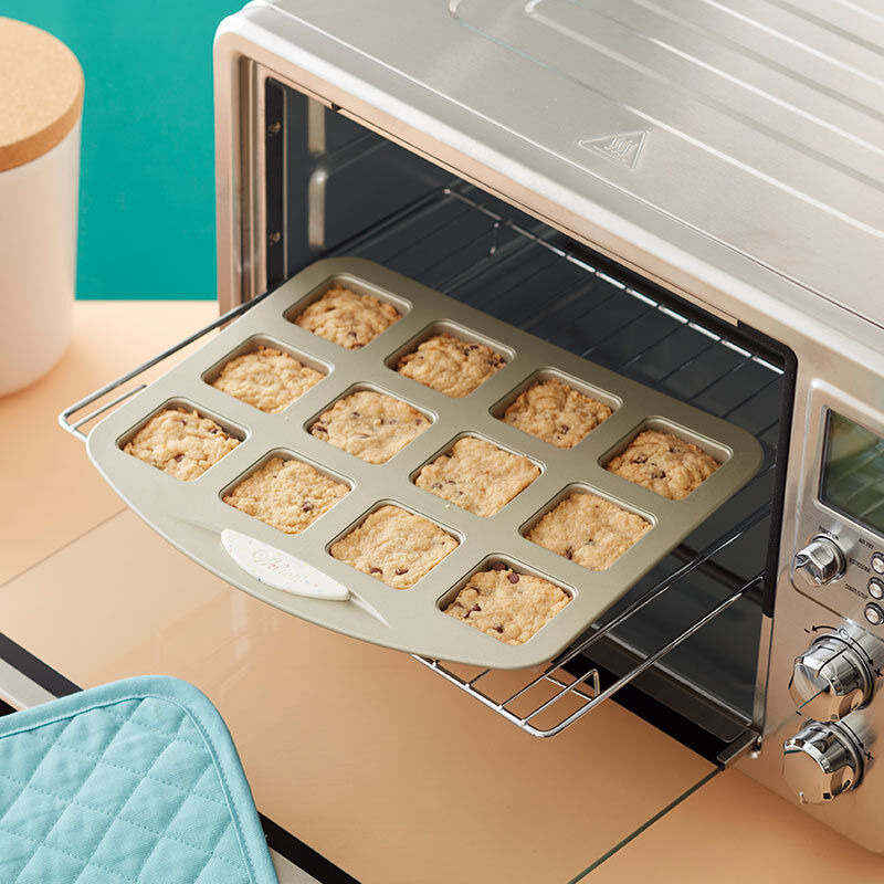 Daily Delights Non-Stick Mini Square Pan, 12-Cavity image number 3