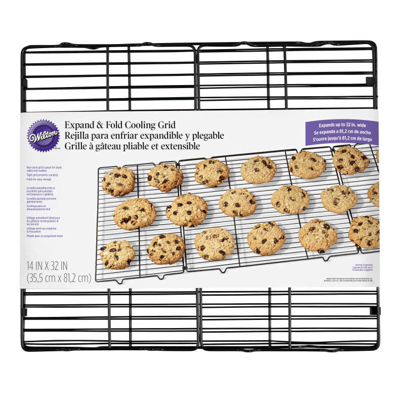 Expand and Fold 16-Inch Non-Stick Cooling Rack image number 1