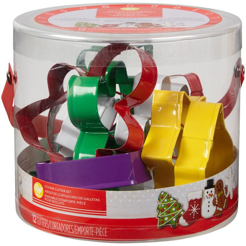 Holiday Cookie Cutter Set, 12-Piece image number 2