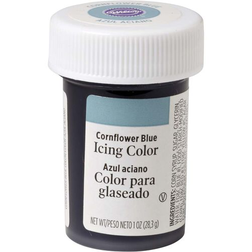 Cornflower Blue Gel Food Coloring Icing Color