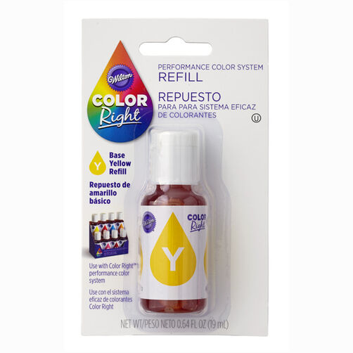 Wilton Color Right Yellow Base Color Refill