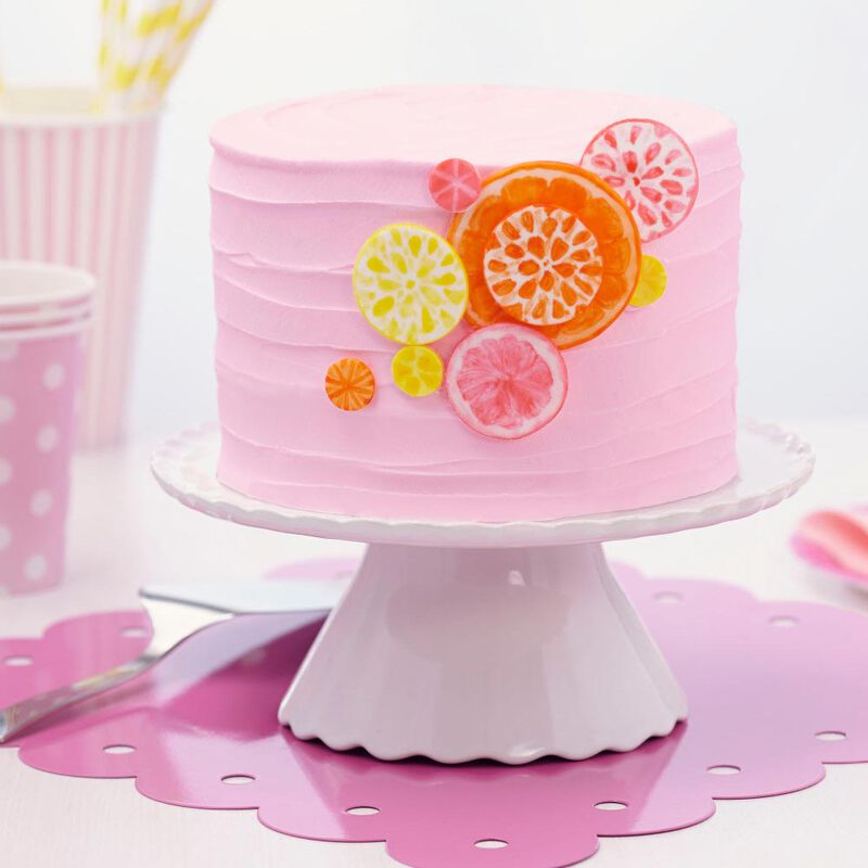 """I Taught Myself To Decorate Cakes With Fondant"" Book Set - Fondant Cutter and Tools image number 3"