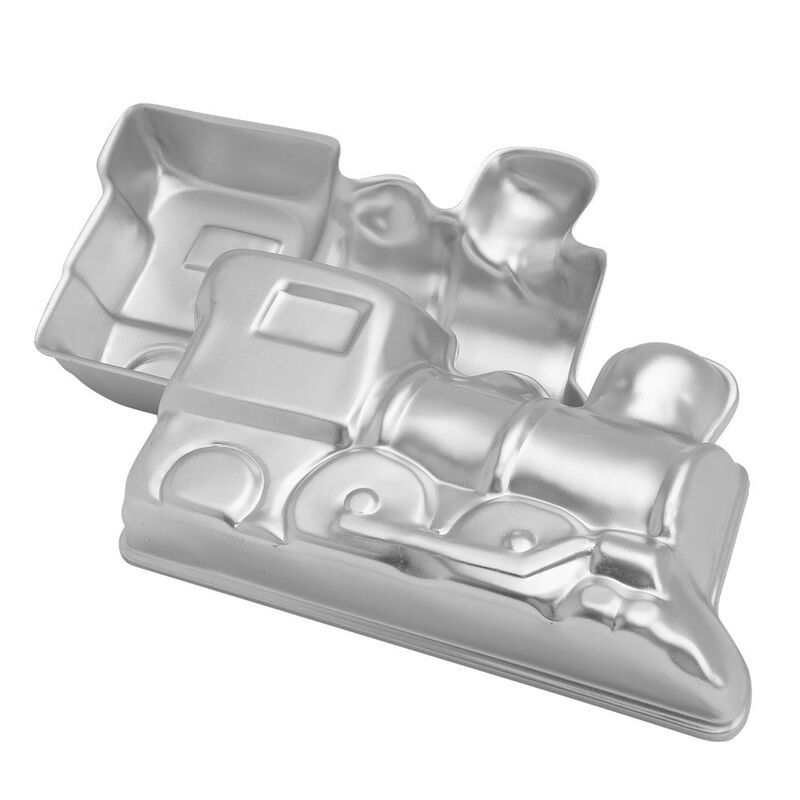 Train Cake Pan, 2-Piece Kids Birthday Cake Pan image number 0
