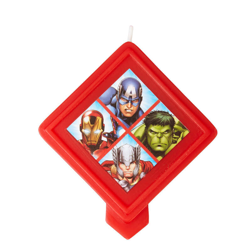 Marvel Avengers Birthday Candle image number 1