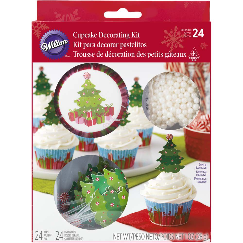 Christmas Tree Cupcake Decorating Kit Wilton