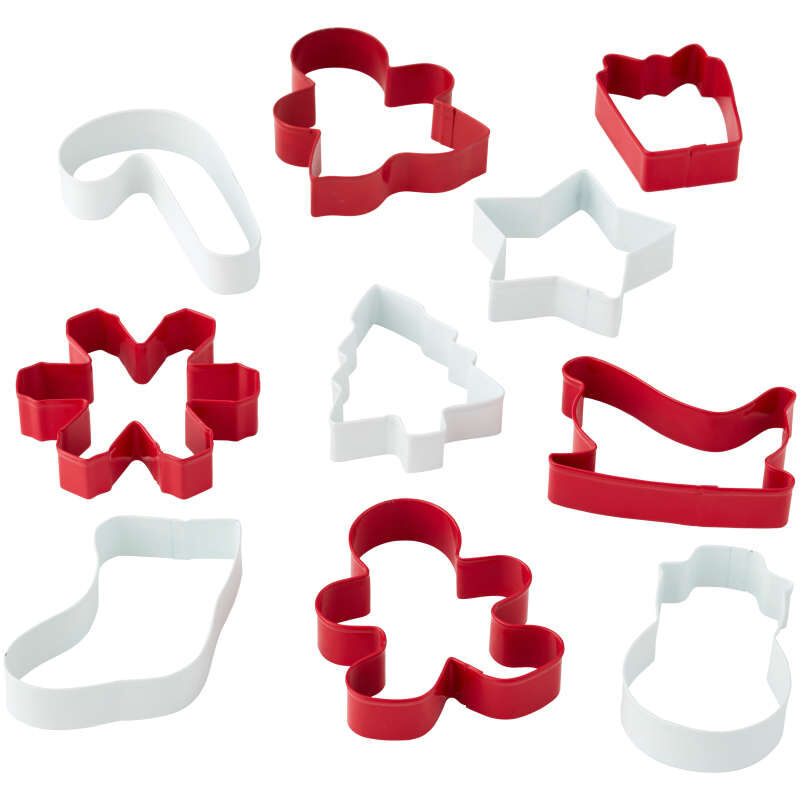 Christmas Cookie Cutter Set, 10-Piece image number 2