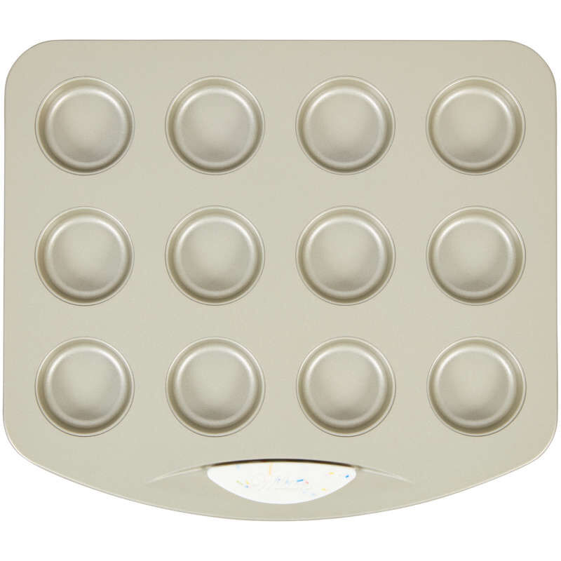 Daily Delights Non-Stick Mini Round Toaster Oven Pan, 12-Cavity image number 0