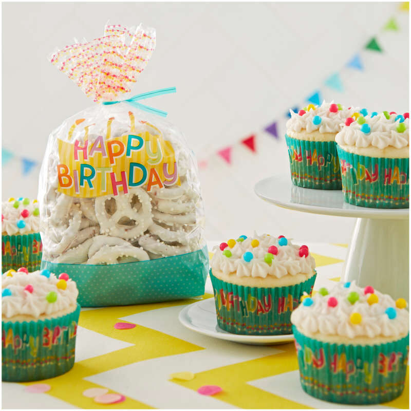 Happy Birthday Treat Bags, 30-Count image number 2