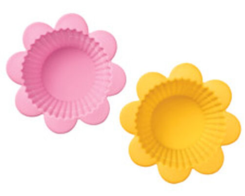 Flower Silicone Baking Cups
