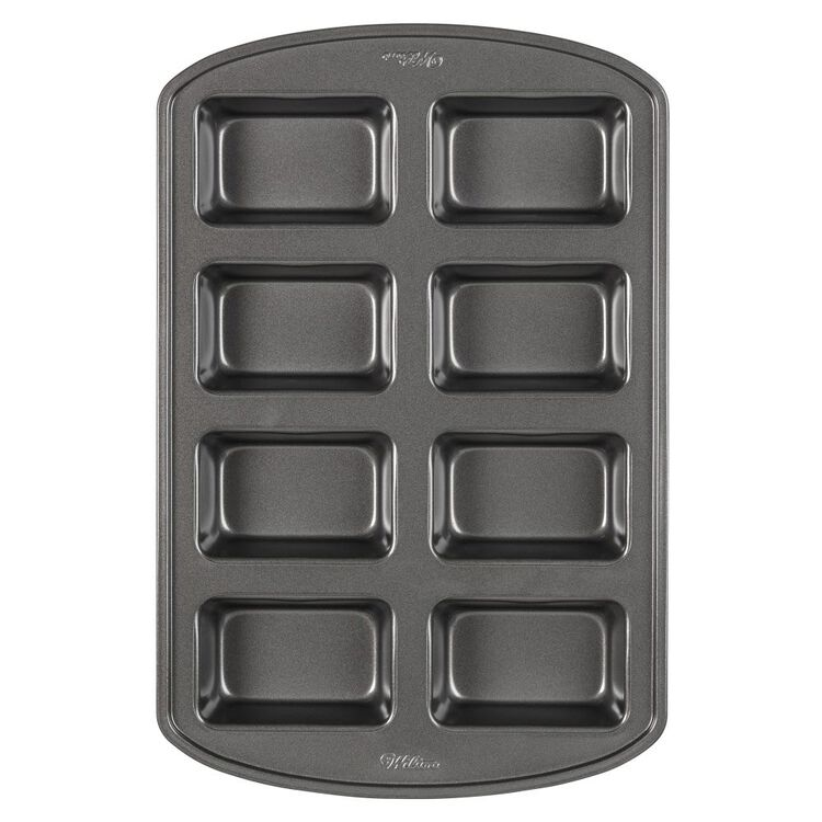 Perfect Results Non-Stick Mini Loaf Pan, 8-Cavity