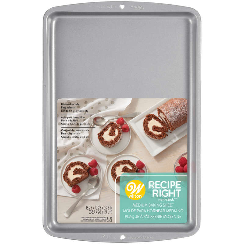 Recipe Right Non-Stick Cookie Sheet, 15.25 x 10.25-Inch image number 1