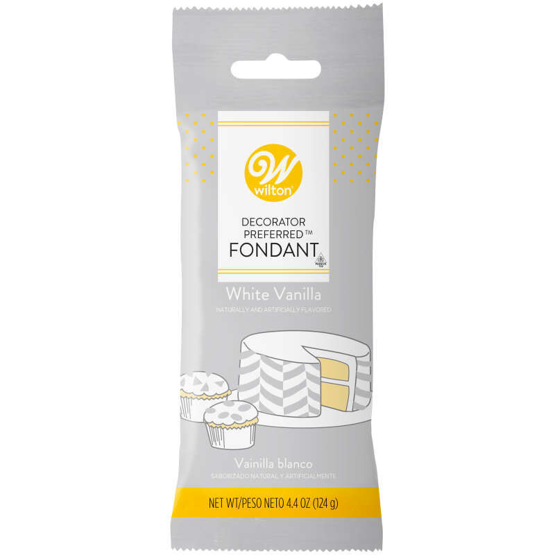 Decorator Preferred White Fondant, 4.4 oz. image number 0