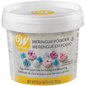 Meringue Powder, 4 oz. Egg White Substitute
