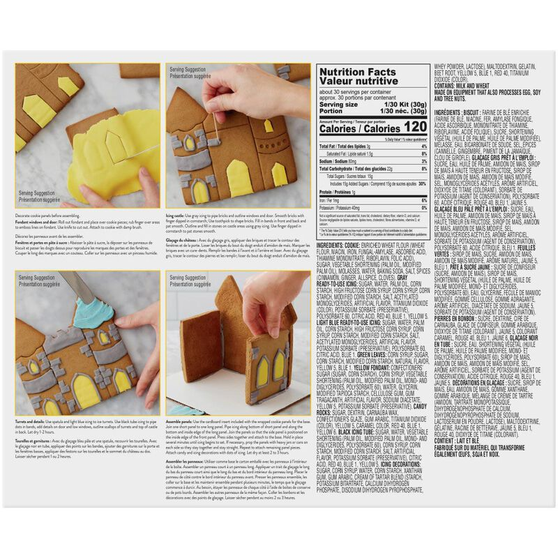 Cookie Creations Fantasy Castle Cookie Kit image number 1