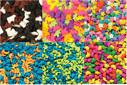 Animals & Stars 6-Mix Sprinkle Assortment