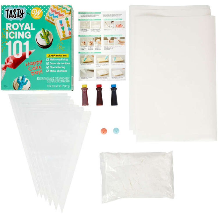 Tasty by Royal Icing 101 Kit