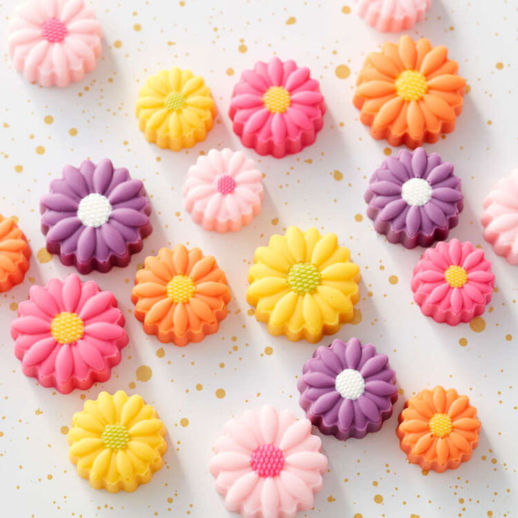 candy melts flowers