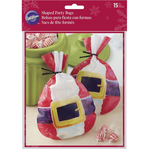 Wilton Santa Belt Treat Bags