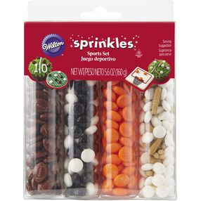 Large Sports Sprinkles Set, 5.6 oz.